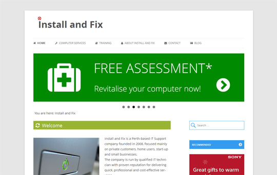 Install and Fix – Computer maintenance and repair company in Perth, Scotland