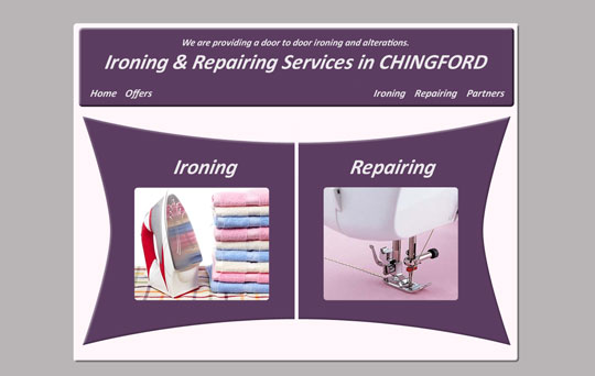 Ironing and alterations Chingford