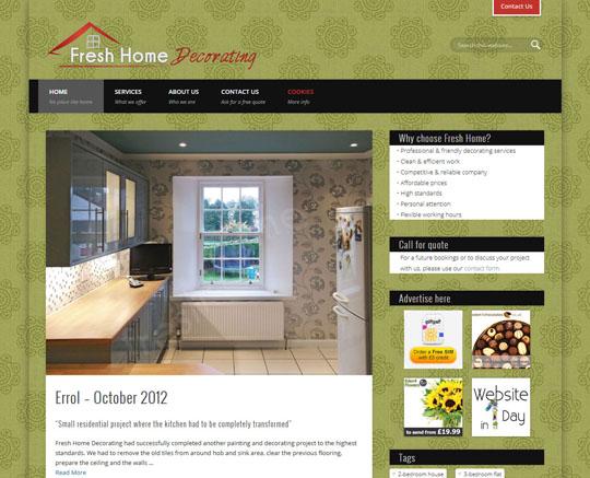 Fresh Home Decorating