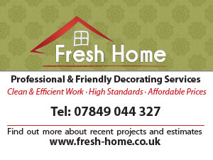 Fresh Home Decorating business card