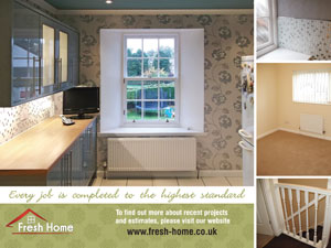 Fresh Home Decorating - promo leaflet A
