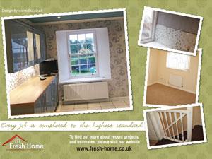 Fresh Home Decorating - promo leaflet B