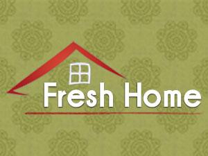Fresh Home Decorating logo design