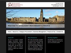 IPF Services web design