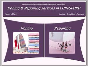 Ironing and Alterations in Chingford - web design