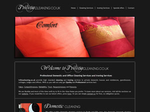 Ivilinacleaning - Web design