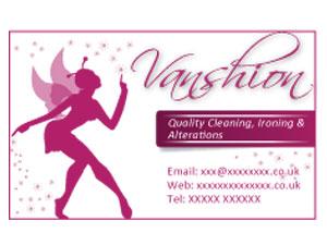 Vanshion - business card