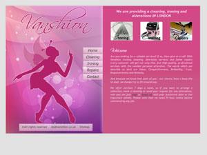 Vanshion - Web design