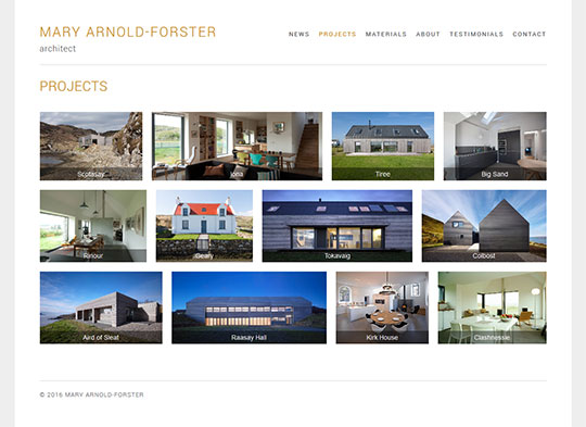 Mary Arnold-Forster Architect